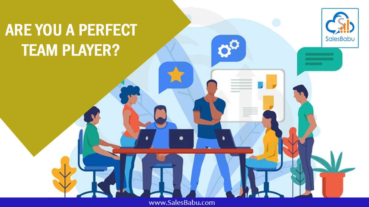 Are You A Perfect Team Player? : SalesBabu.com