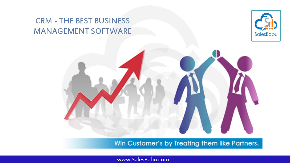 CRM - The Best Business Management Software : SalesBabu.com