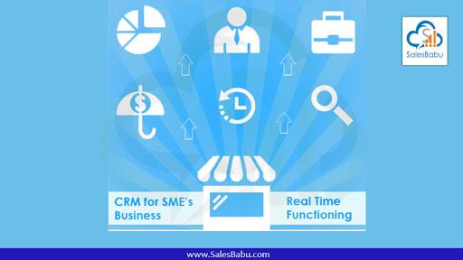 CRM application : SalesBabu.com