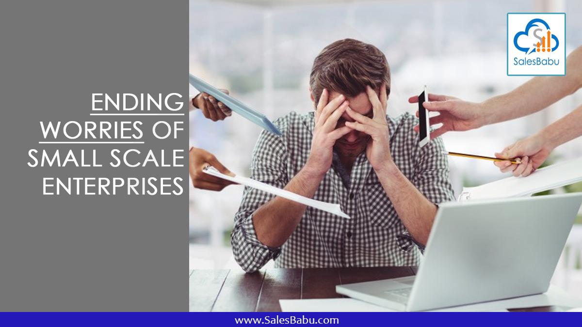 Ending Worries of Small Scale Enterprises : SalesBabu.com