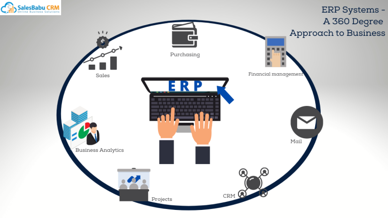 Online ERP Software for a strengthening business collaboration