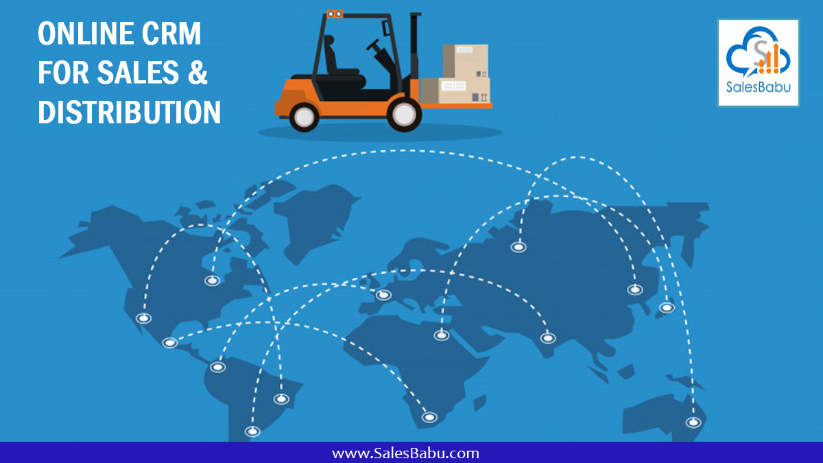 Online CRM For Sales & Distribution : SalesBabu.com