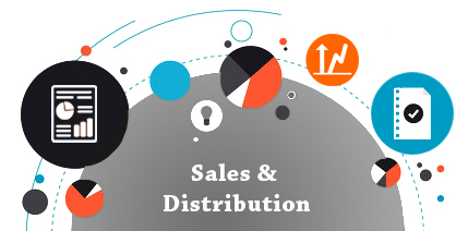 crm for sales & distribution