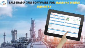 SalesBabu CRM Software For Manufacturing Industry