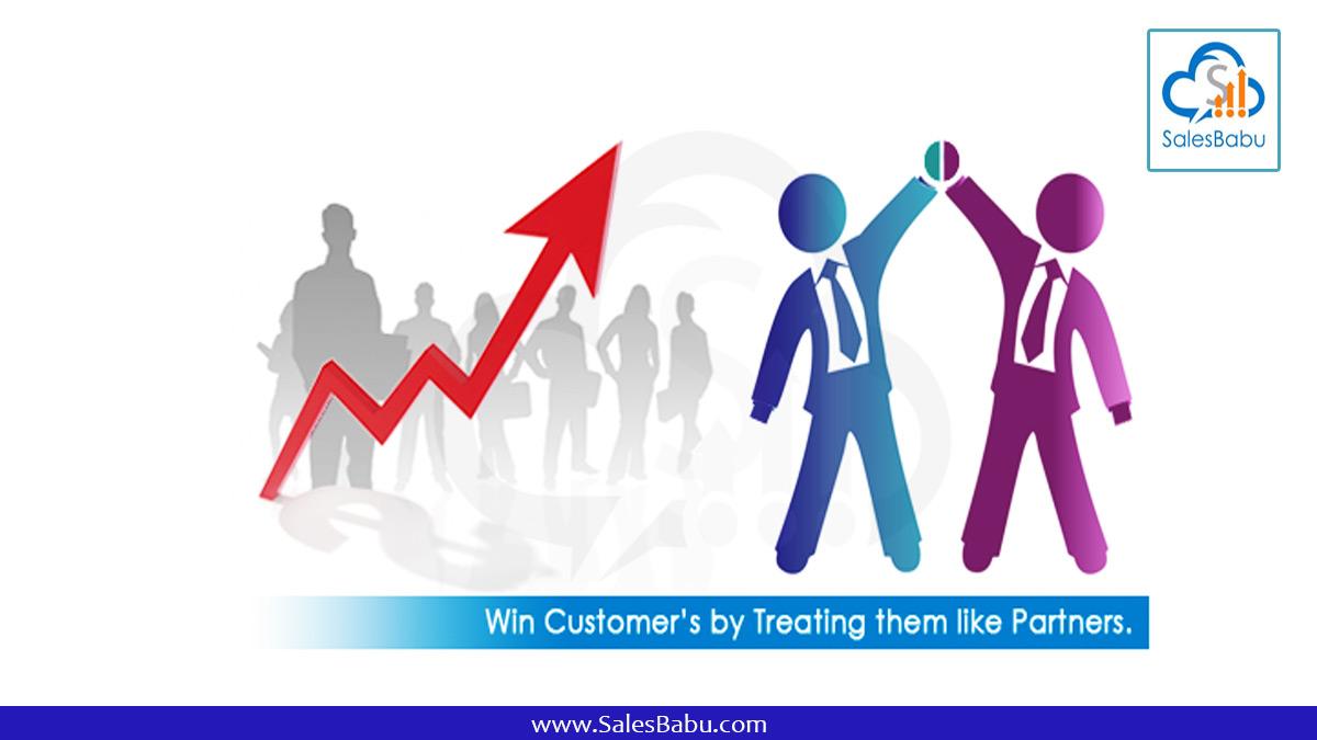 Win Customers By Treating Them Like Partners : SalesBabu.com