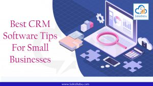 Best CRM Software Tips for Small Businesses : SalesBabu.com