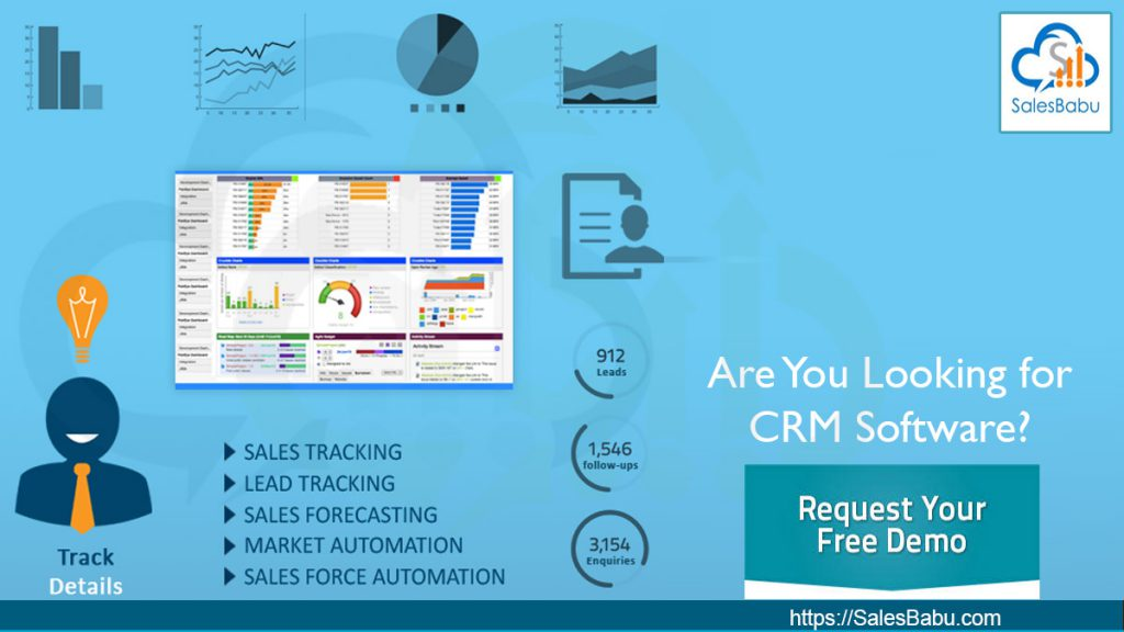 Are You Looking for CRM Software : SalesBabu.com