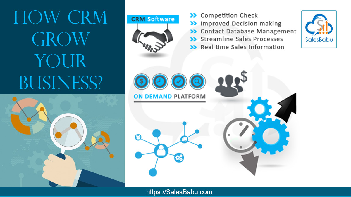 How CRM Grow Your Business: SalesBabu.com