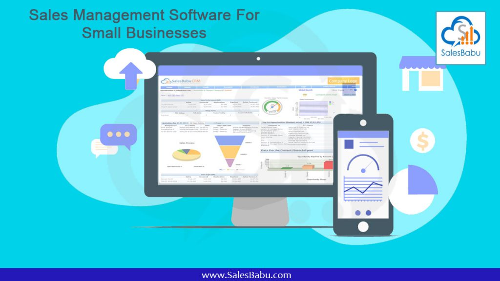 Sales Management Software For Small Businesses : SalesBabu