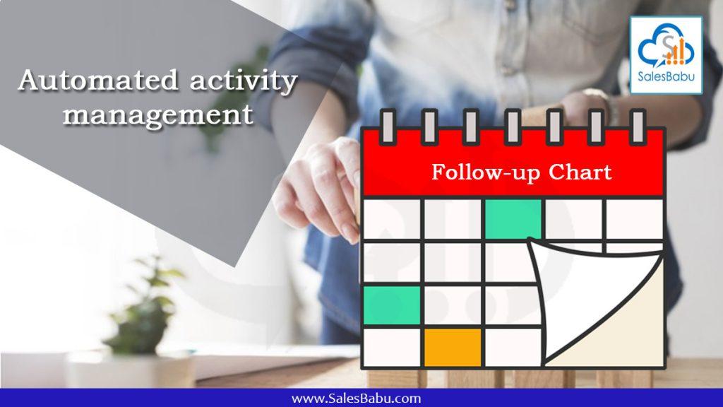 Automated activity management : Salesbabu.com