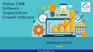 Online CRM Software – Organization Growth Indicator : SalesBabu.com