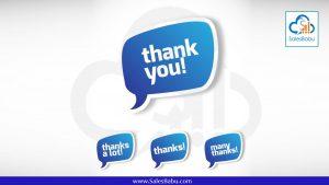 be-thankful : SalesBabu.com