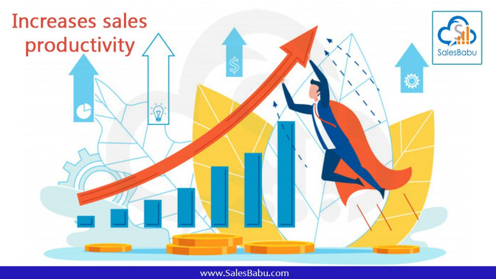 Using the correct software to improve sales productivity.