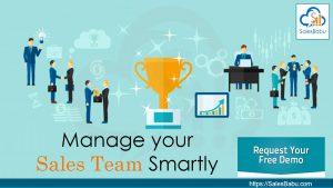 Manage Your Sales Team Smartly : SalesBabu.com