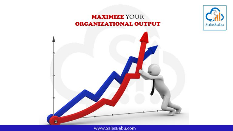 Maximise your organisational output with SalesBabu Cloud CRM
