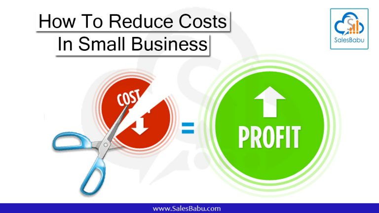 How to reduce cost and improve profit.