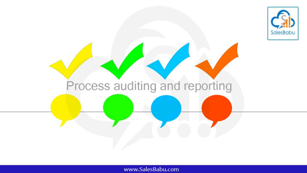 Process auditing and reporting