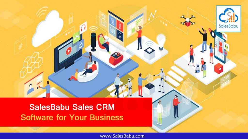 SalesBabu Sales CRM Software for your business