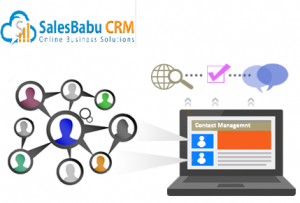 Grow your Business Faster with SalesBabu Contact Management Software