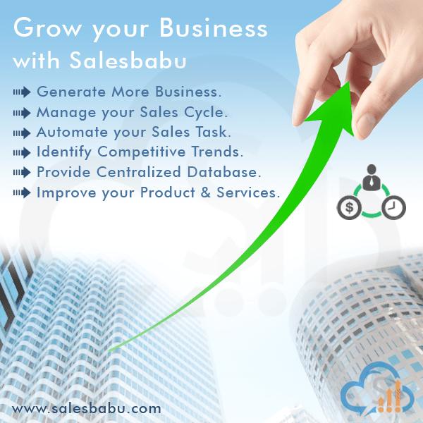 Grow Your Business : SalesBabu.com