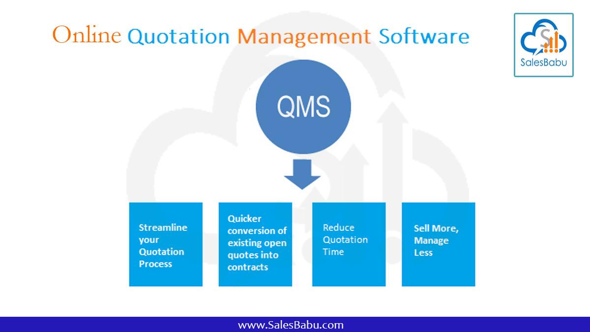 Online Business Quotation Maker   SalesBabu CRM