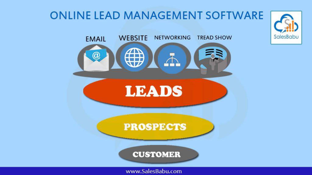 Online Lead Management Software : SalesBabu.com