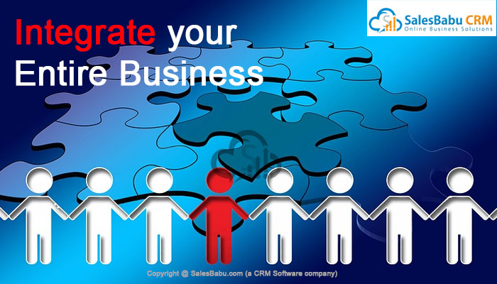 Integrate your Entire Business : SalesBabu.com