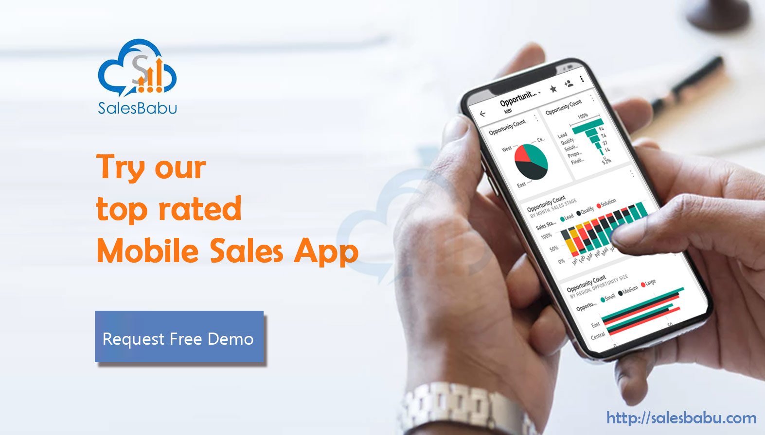 Mobile Sales App : SalesBabu.com
