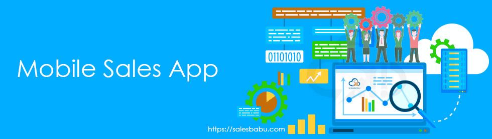 Sales Tracking App : SalesBabu.com