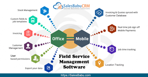 Field Service Management Software : SalesBabu.com