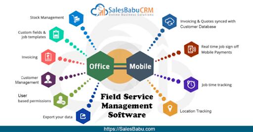 Field Service Management Software : SalesBabu.com