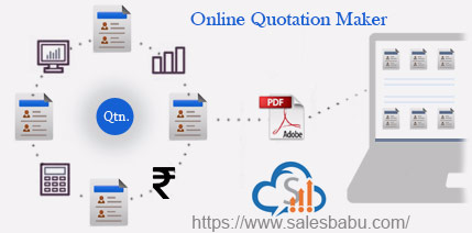 quotation maker online : SalesBabu.com