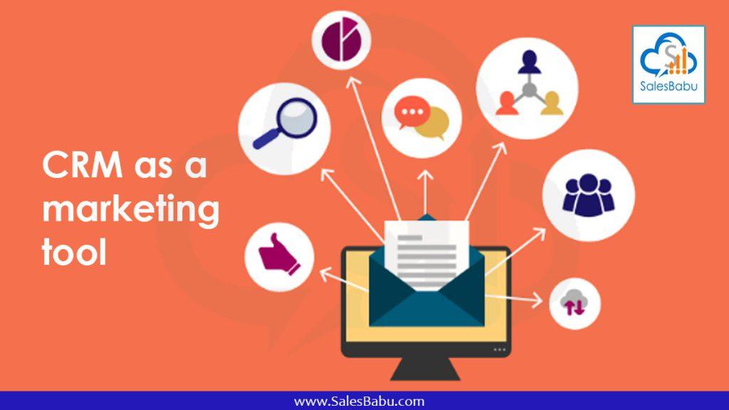 CRM as a marketing-tool : Salesbabu.com