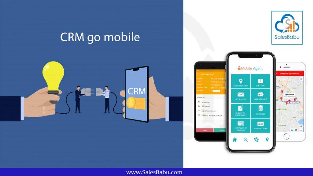 CRM go mobile : SalesBabu.com