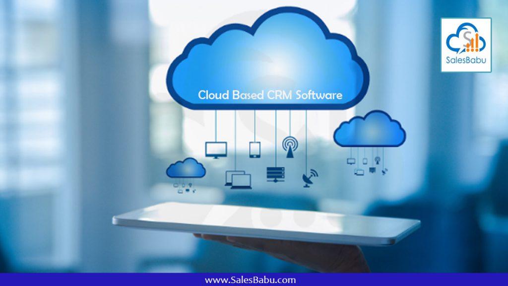 Cloud Based CRM Software: SalesBabu.com