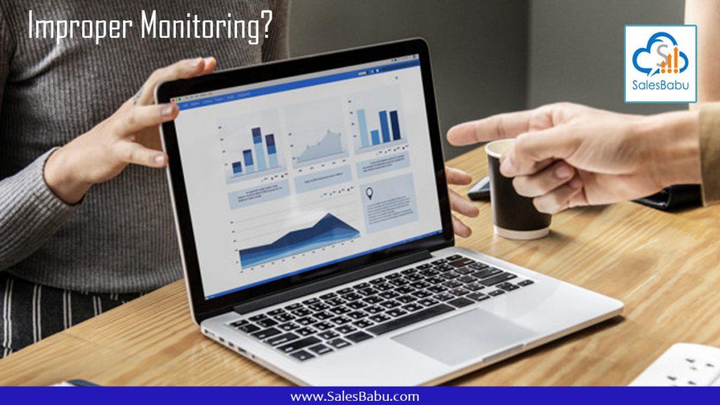 Improper Monitoring : SalesBabu.com