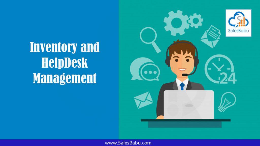 Inventory and HelpDesk Management : SalesBabu.com