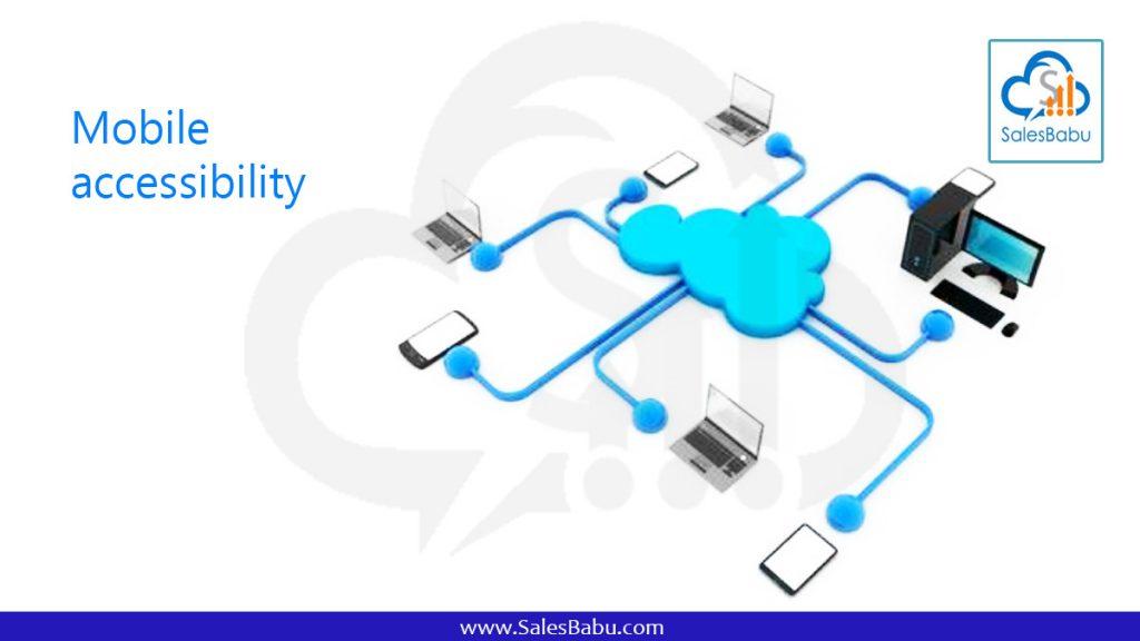Mobile accessibility : SalesBabu.com