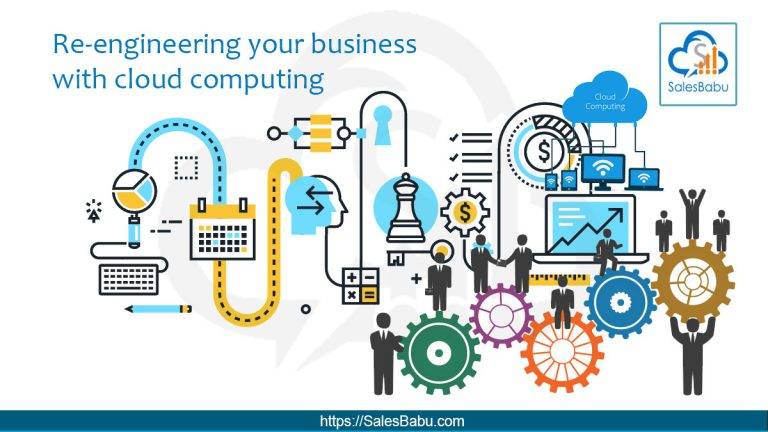 Re-engineer your business with Cloud Computing : SalesBabu.com