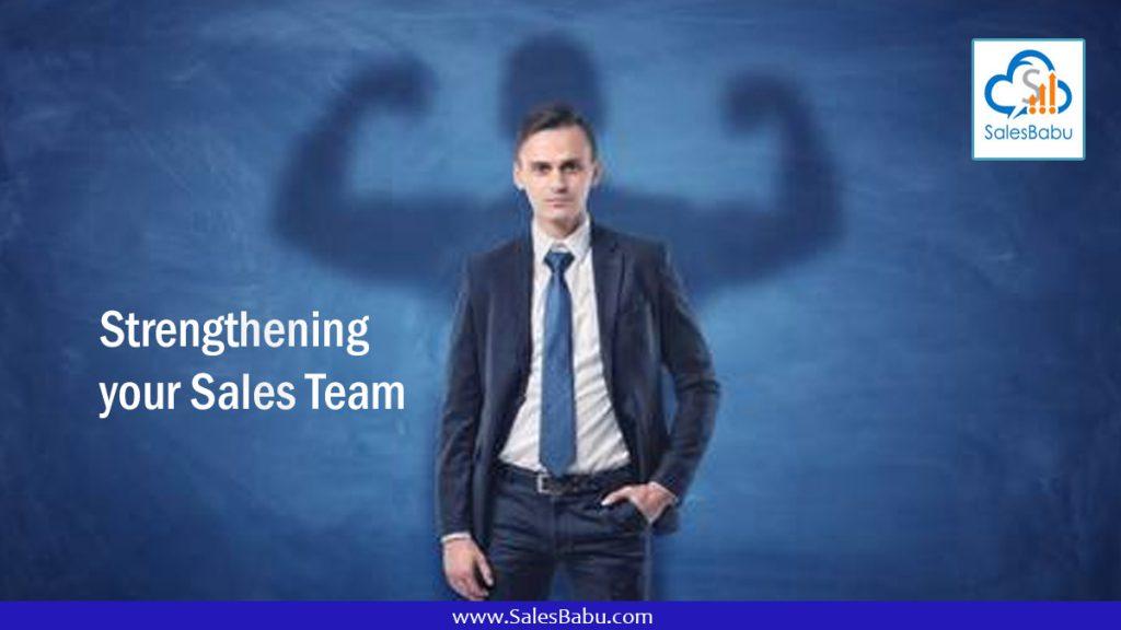 Strengthening your Sales Team : SalesBabu.com
