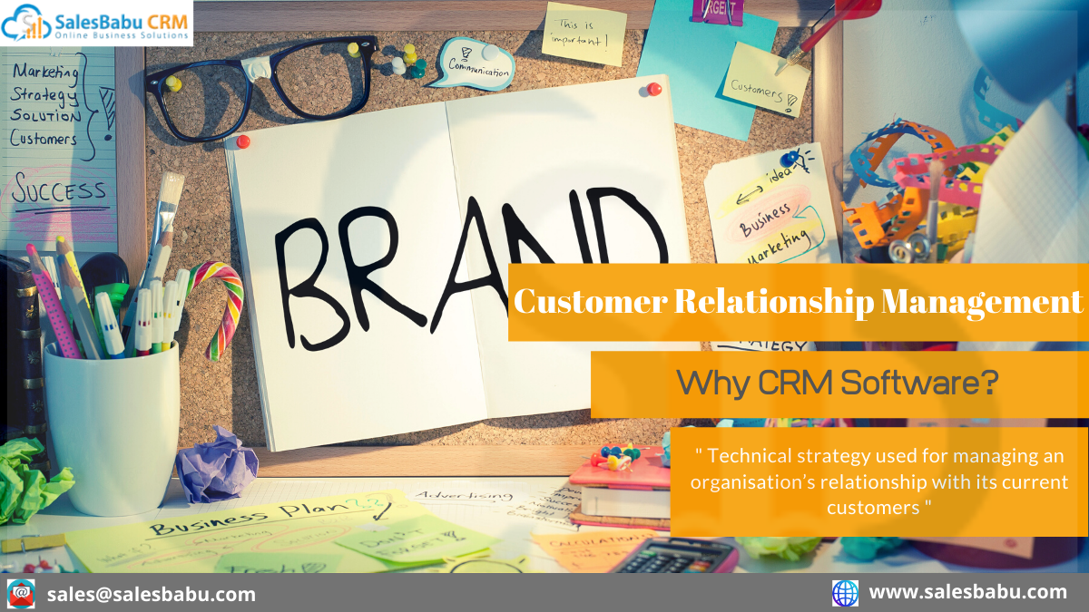 Why CRM Software