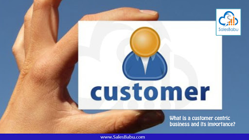customer centric business and its importance : SalesBabu.com