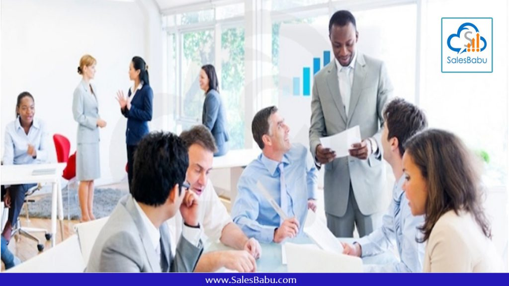 Cloud CRM for Sales Manager : SalesBabu.com