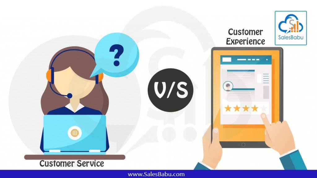 Customer Experience vs Customer service: SalesBabu.com