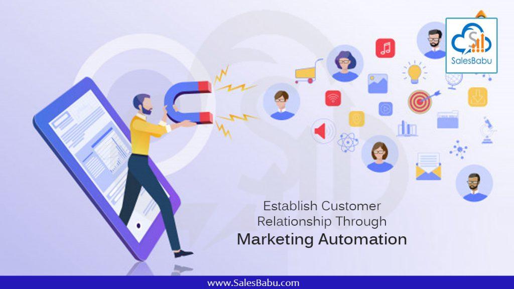 Establish Customer Relationship Through : SalesBabu.com