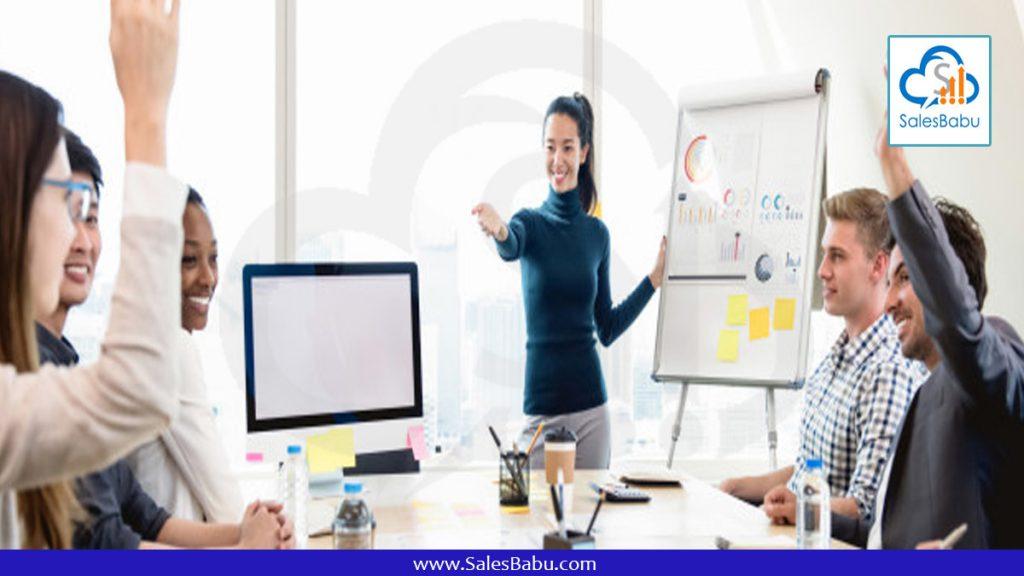 Training Sales and Marketing team : SalesBabu.com