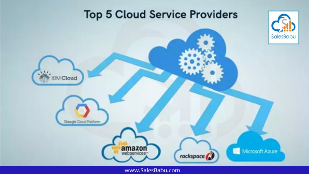 What are Cloud service providers : Salesbabu.com