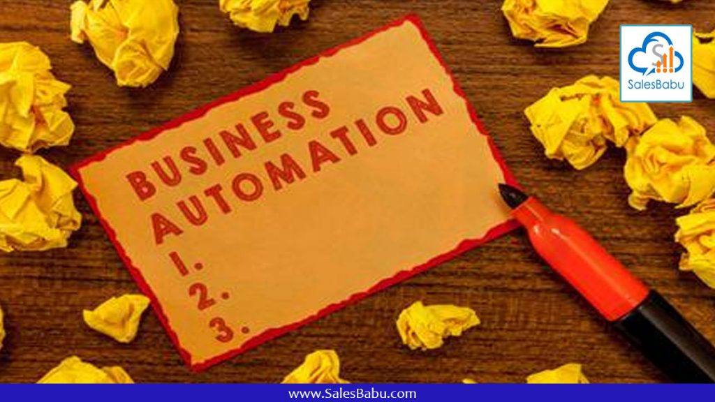 business automation : SalesBabu.com