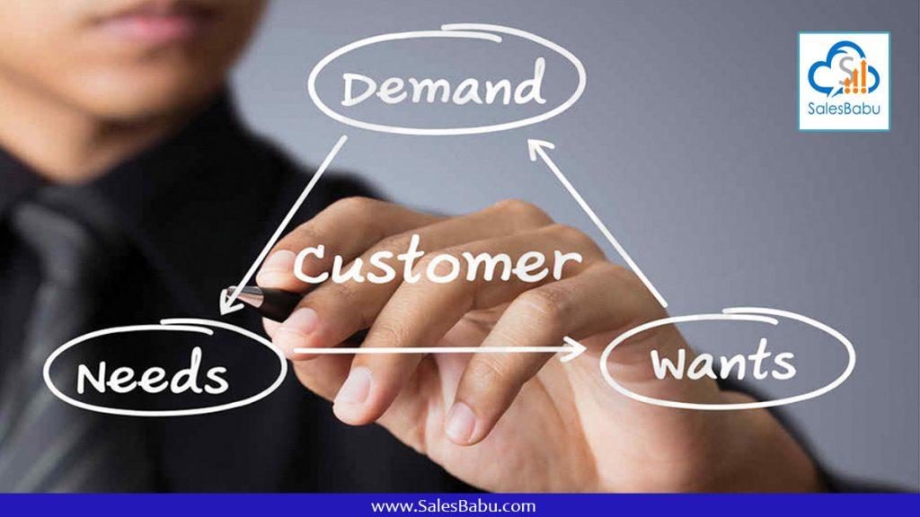 understanding customer needs : SalesBabu.com