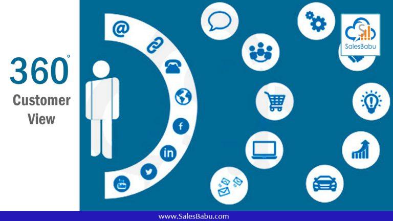 360 degree customer view : SalesBabu.com